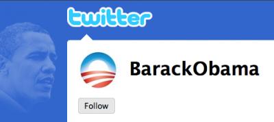 Barack ObamaのTwitter