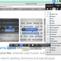 PopClip for Mac ペーストからの検索などの操作が劇的改善